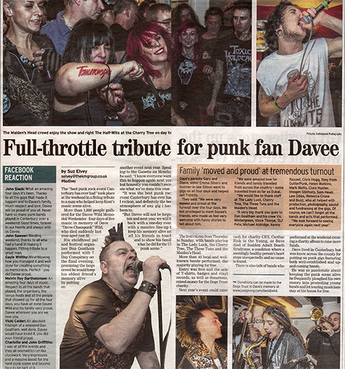 GutterPunk Photography - Kent Messenger Newspaper