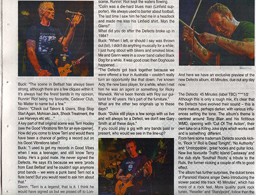 GutterPunk Photography - Street Sounds Music Paper